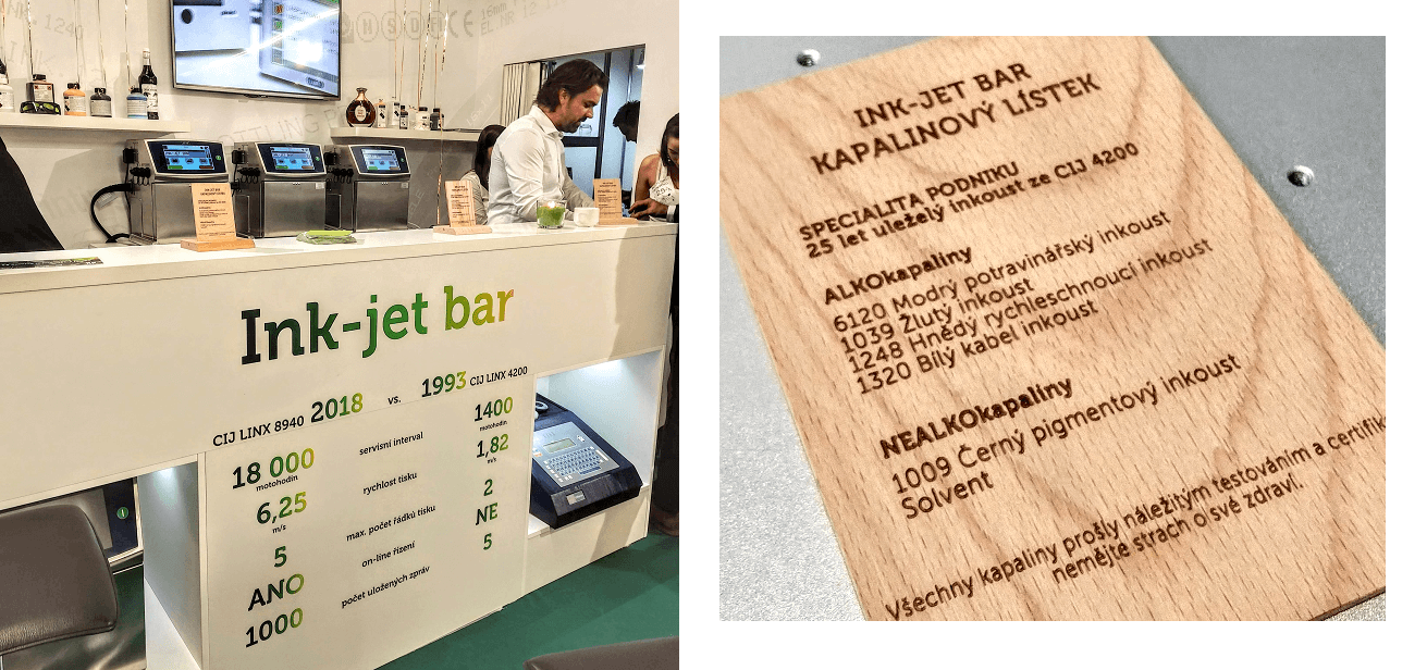 Ink-jet bar na MSV 2018
